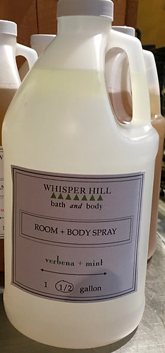 Room & Body Spray - bulk - half gallon