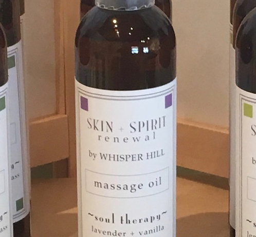 Massage Oil-12/8 oz bottles
