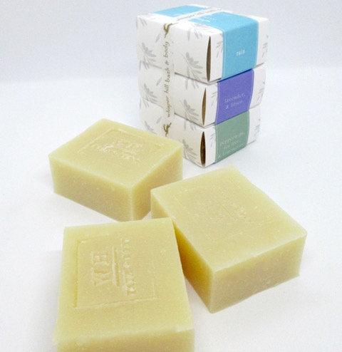 3 Bar Goat's Milk Soap Stack