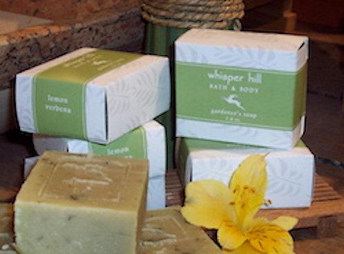 Lemon Verbena Gardener's Soap