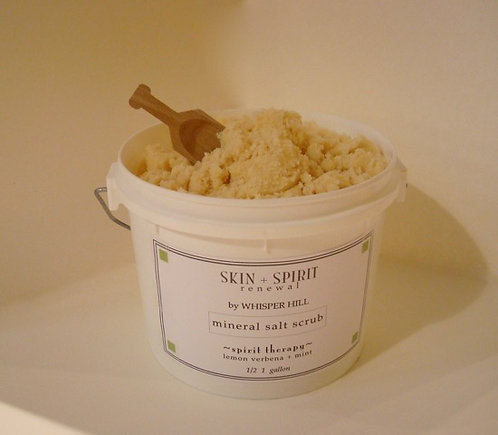 Mineral Salt Scrub - back bar - half gallon