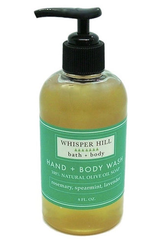 Rosemary Spearmint Lavender Hand & Body Wash