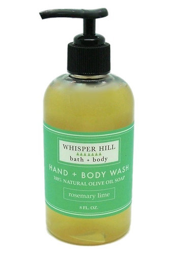 Rosemary Lime Hand & Body Wash