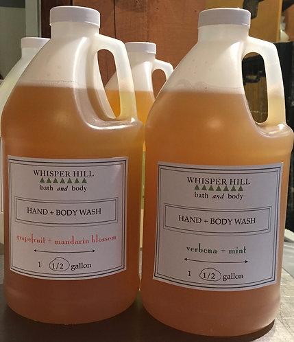 Bulk Hand & Body Wash for private label