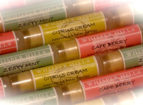 Nourishing Lip Balm with shea butter and vitamin e.