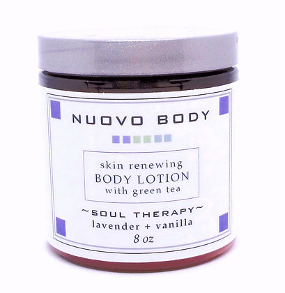 lavender body lotion with green tea
