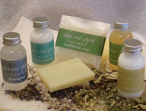 Natural amenity products for country inns and bed and breakfasts.