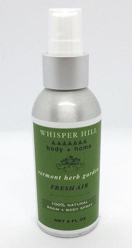 VT herb garden room & body spray