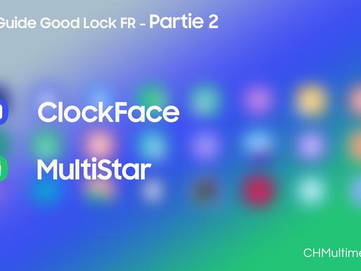 Guide Good Lock FR Partie 2: ClockFace et MultiStar
