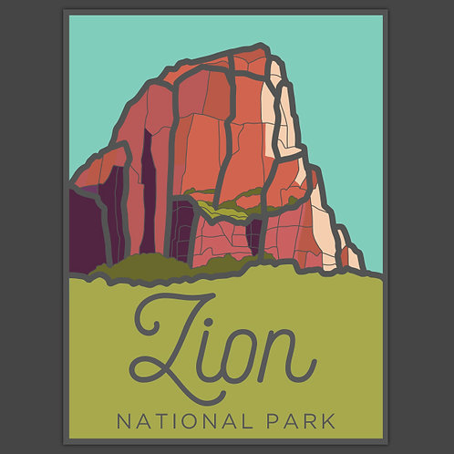 Zion Decal