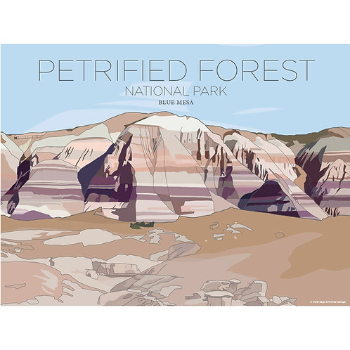 Peterified Forest