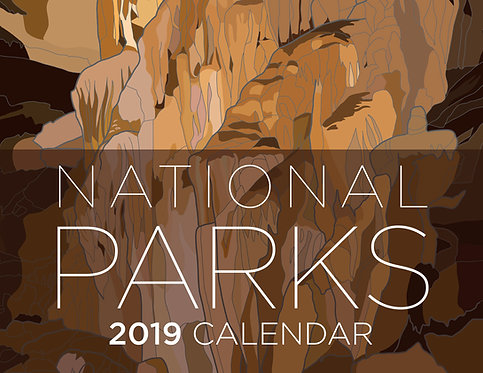 National Park 2019 Calendar
