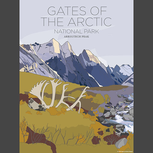 Gates of the Arctic National Park