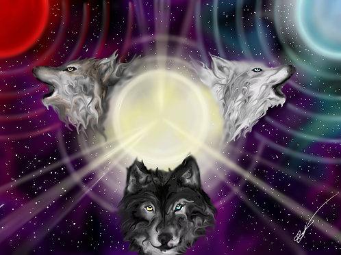 Wolfs Baine Print 8 x 10