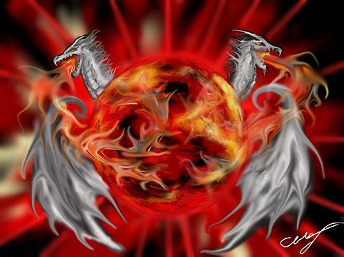 Dragons Blood  Print 8 x 10