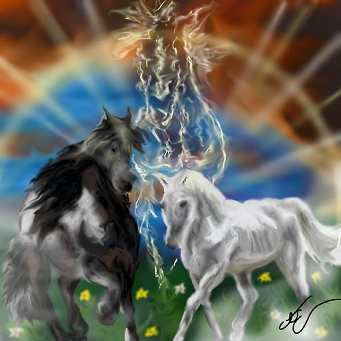 Horse Spirit Print 8 x 10