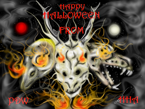 PDW Halloween Logo Print 8 x 10
