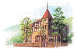 風見鶏の館
