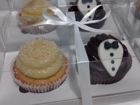 Cup cakes para casamentos