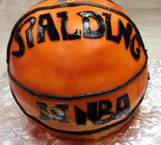 Spaulding basketball grooms cake