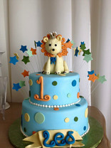 King of the Jungle 1st Birthday Cake
