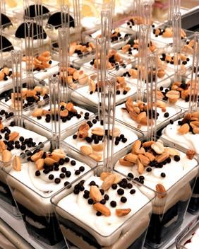 Chocolate Peanut Butter dessert shooters