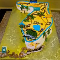 State of Florida grooms cake