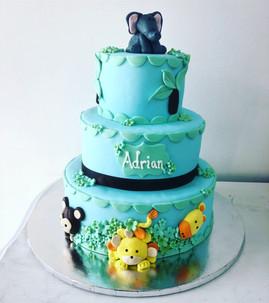 Baby Shower jungle cake