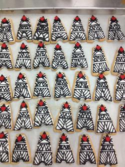 Eifel Tower Cookie