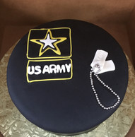US Army grooms cake