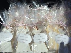 Bride & Wedding Dress Cookie Favor