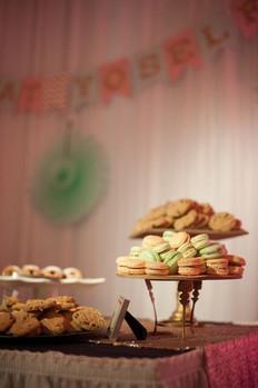 Wedding Cookie dessert table
