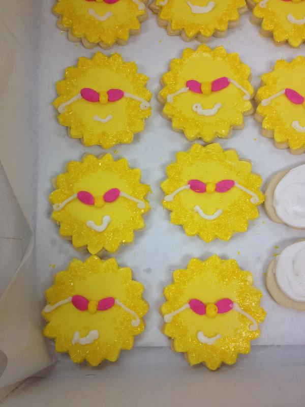 Sunburst Cookies