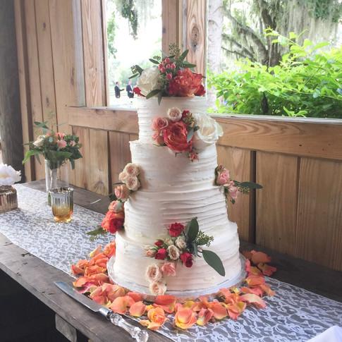 Rustic Farm Wedding Cake