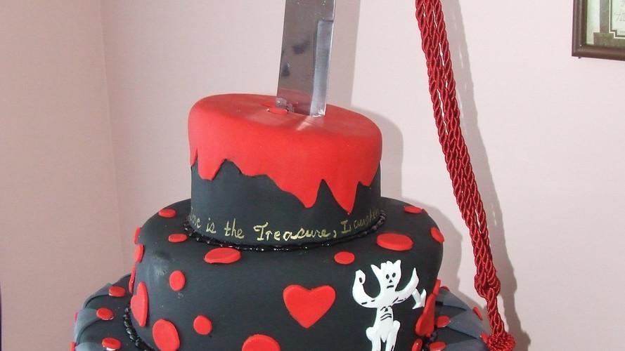 Pirate Wedding Cake