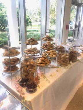 Croissant wedding bar