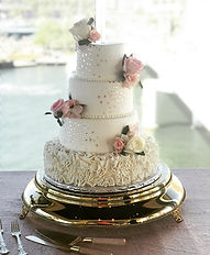 Clearwater beach wedding cake bakery