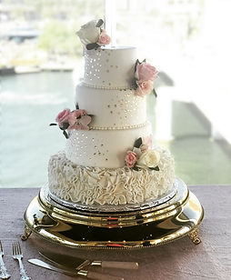 Clearwater beach wedding cake bakery