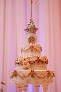 Quincenera Castle Cake