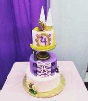 Disney Tangled 4th Princess Birthday Cake