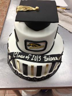 Highschool Graduation cakes