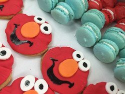 Elmo 1st Birthday Cookie