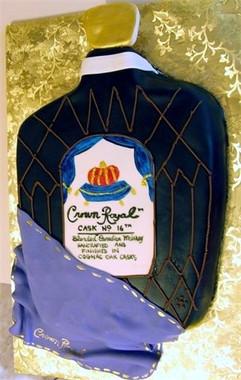 Crown Royal grooms cake