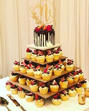 tampa wedding cake and cupcake reception bakery