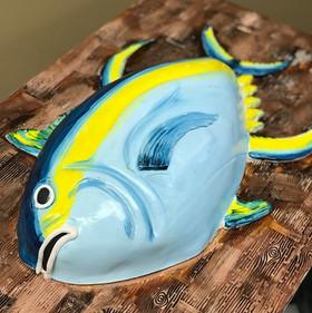 Tarpon fish grooms cake