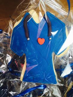 Nurse Scrub Uniform Cookie