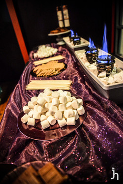 smores wedding bar