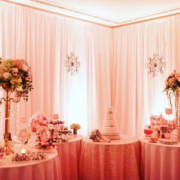 Wedding Dessert Bar Room