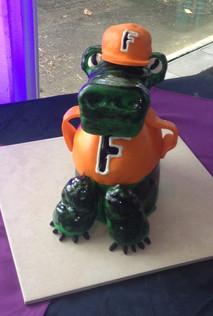Florida State Gators 3-D grooms cake