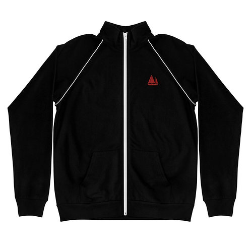 Piped Fleece Jacket - Dawn Hunters Logo
